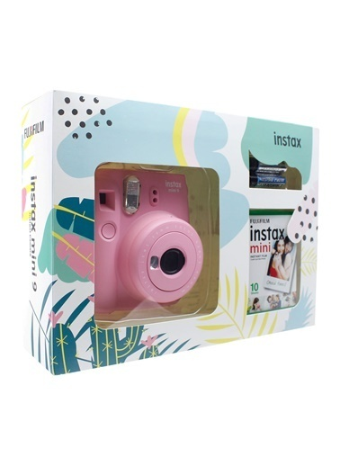 Fujifilm instax mini 9 Açik Pembe mini Kit Renkli